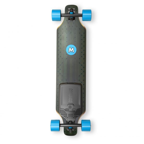 Mellow Board Surfer + Drive The Mellow Board Surfer is an advanced electric longboard with new standards for quality, safety and user experience. Supersmooth acceleration, powerful braking - the Mellow Drive provides a unique driving experience. The Mellow Drive has many intelligent features that qualify it as a high-tech electric vehicle for daily use. Designed, developed and produced in Germany.