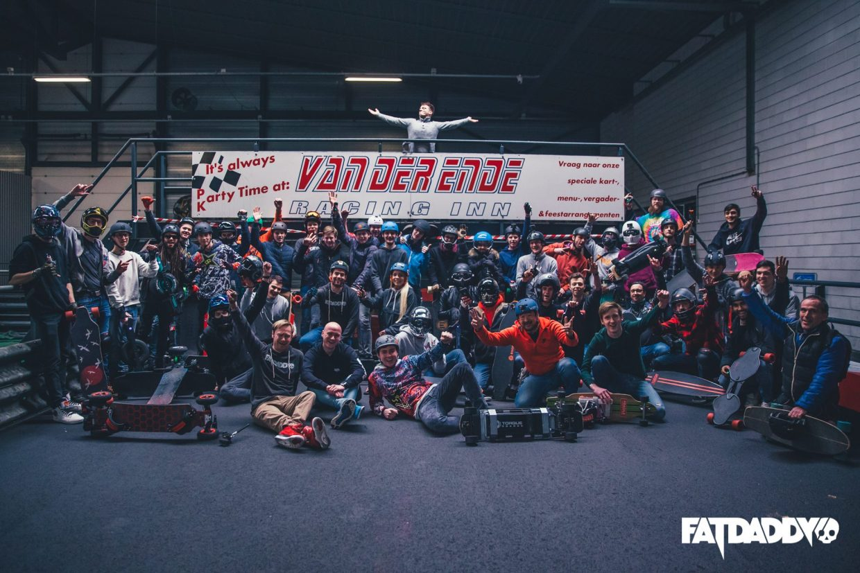Groupride Paris (CarveUK & ESK8FR) On the 11th of July 2019 Fatdaddy is setting off to the city of romance, the birthplace of the French Kiss and where you can get the best croissants.