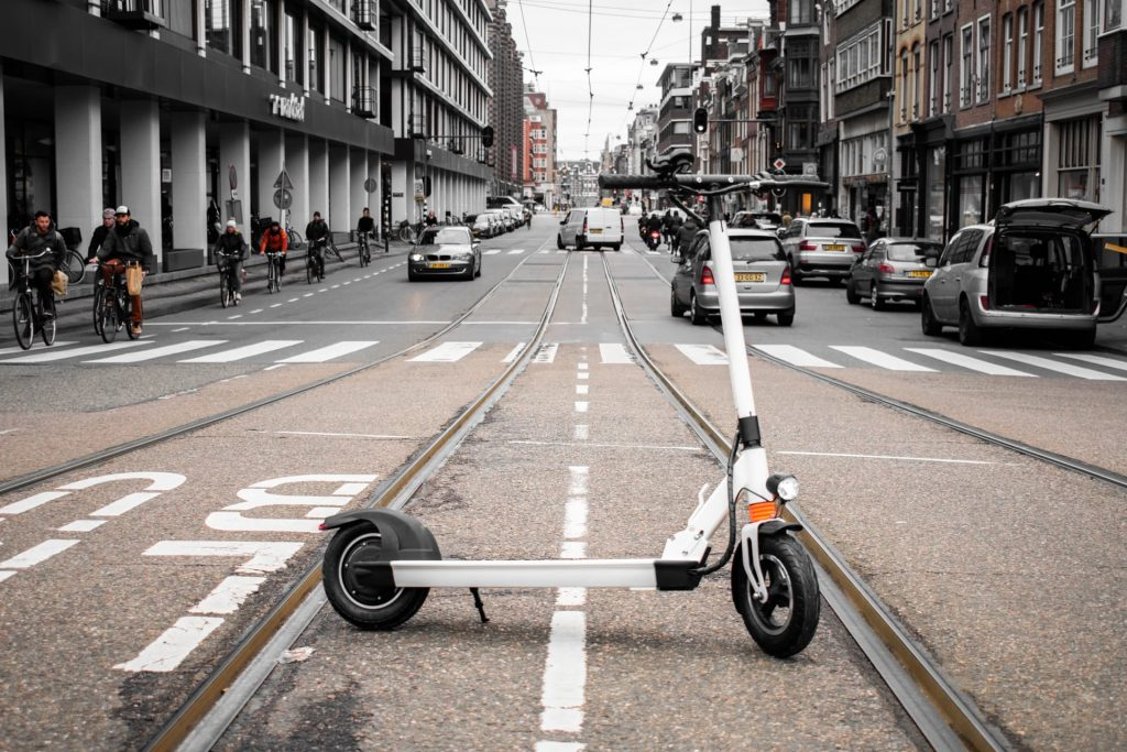 """Urban XL Electric Scooter Urban XL Electric Scooter series are designed from the ground up to be the steadiest and fastest electric foldable scooter on the road. With big 10 inches tire, a 19cm long standing board all backed with the power of a 500W motor giving a super steady ride at the speed of 25km/h.  Speed: 25 km/h Range: 40km Features:10"""" wheels"""