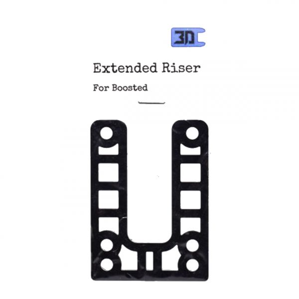 Extended Riser for Boosted Boards 1