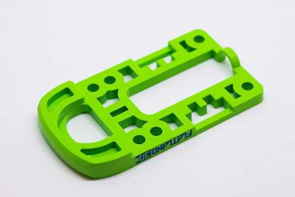 Bash Guard M for Boosted Boards Green (round) Designed as a direct replacement for the stock riser on your Boosted Board, the Bash Guard M orange with round edge will provide protection to the nose or tail of your deck without any effect to the ride feel or dynamics.