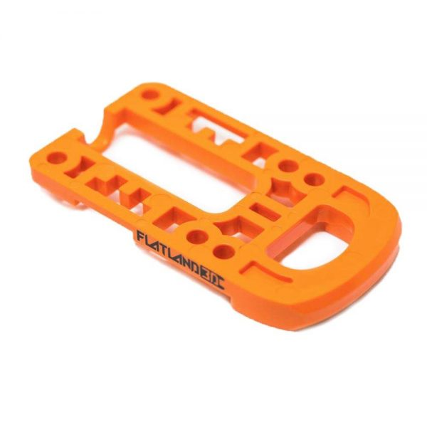 Bash Guard M for Boosted Boards Orange (round) Designed as a direct replacement for the stock riser on your Boosted Board, the Bash Guard M orange with round edge will provide protection to the nose or tail of your deck without any effect to the ride feel or dynamics.