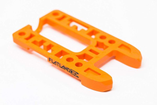 Bash Guard M for Boosted Boards Orange (open) 6