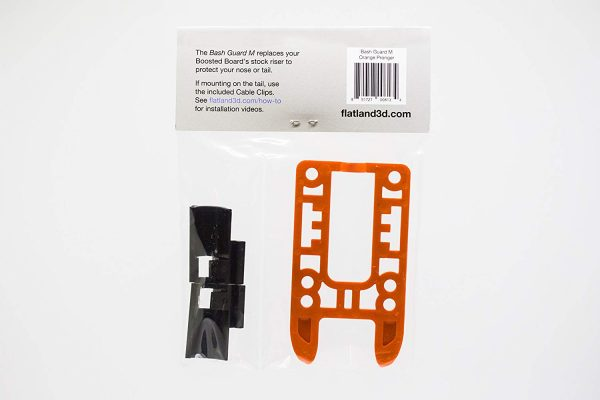 Bash Guard M for Boosted Boards Orange (open) 8
