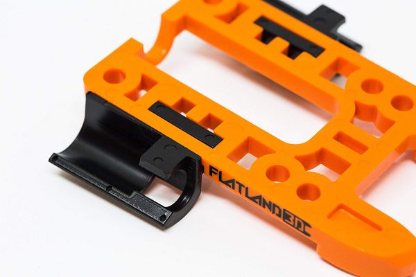 Bash Guard M for Boosted Boards Orange (open) 9