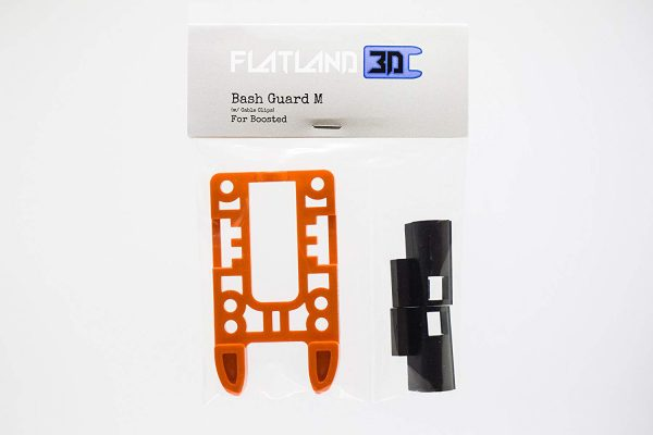 Bash Guard M for Boosted Boards Orange (open) 7