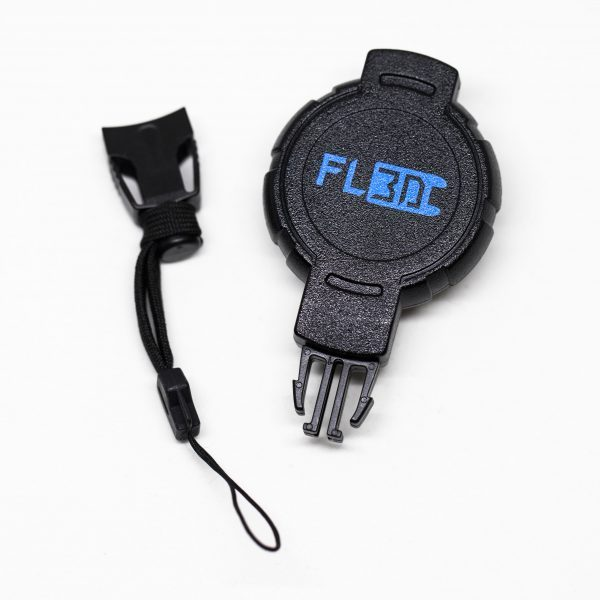 Retractable Remote Lanyard Need to let go of your remote to pay your train fare? Or grab your morning coffee? The Retractable Remote Lanyard keeps it easily accessible at your hip when you're ready to start riding again. Compatible with any e-skate remote that uses a standard wrist lanyard.  The toughest, highest quality retractable gear tether, perfect for your e-skate lifestyle.   Strong 36″ (90 cm) Kevlar® cord  Durable polycarbonate case  Quick-disconnect lanyard attachment  360° Swivel Belt Clip  Don't forget the Spare attachments for your Lanyard. Install one of these attachment pieces on each of your remotes, and easily swap whichever remote you're using that day onto your retractor!