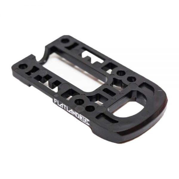 Bash Guard M for Boosted Boards Black (round) Designed as a direct replacement for the stock riser on your Boosted Board, the Bash Guard M orange with round edge will provide protection to the nose or tail of your deck without any effect to the ride feel or dynamics.