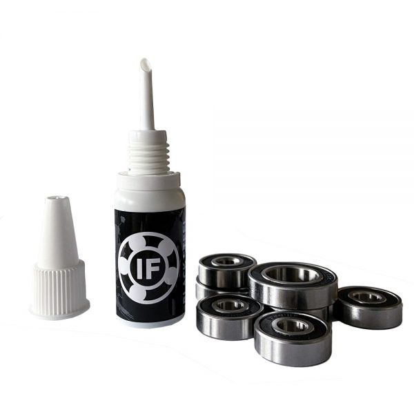 Ionic Flux Black Ceramic This 15ML bottle of Ionic Flux Black Ceramic is perfect for maintaining your bearings. The special nanoparticles in the Ionic Flux Black Ceramic lower the resistance of the bearing and you extend the service life.
