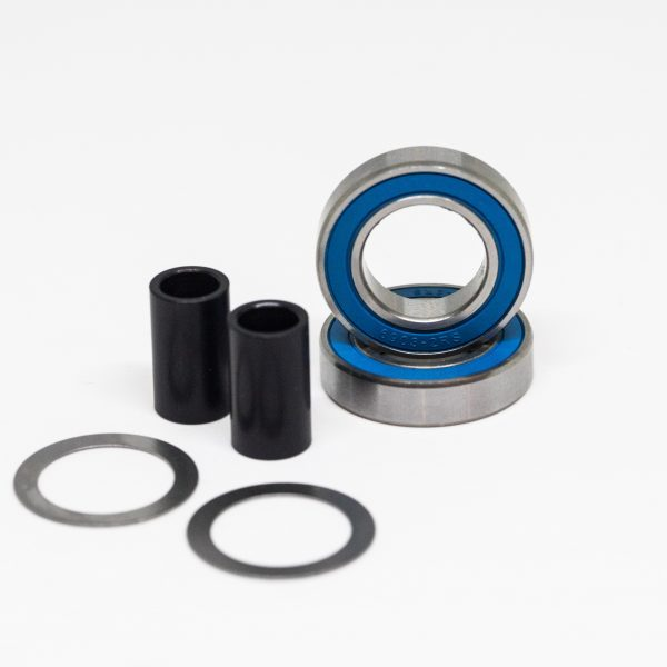 Flatland3d Pro Steel Pulley Bearings flatland3d Pro Steel Pulley Bearings are professional quality bearings at an economy price. Our bearings feature Chrome Steel Rings, Balls and Cages for corrosion resistance and durability. Dual Rubber Seals keep out dirt and dust.  6903 (for V2 / V3 Boosted Boards) includes: 2x 6903-2RS Chrome Steel, Double Sealed Pulley Bearings 2x Pulley Bearing Washers 2x 19mm Spacers  6804 (for V1 Boosted Boards) includes: 2x 6804-2RS Chrome Steel, Double Sealed Pulley Bearings