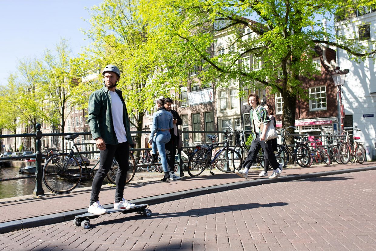 Why legalize electric scooters, onewheels and electric skateboards I started riding electric skateboards about a year and a half ago and not long after I founded Fatdaddy. Life has never been the same (transportation-wise) and I would like to share a couple of the reasons why I ride my electric scooter and electric skateboard in Amsterdam (even though they are currently not allowed).