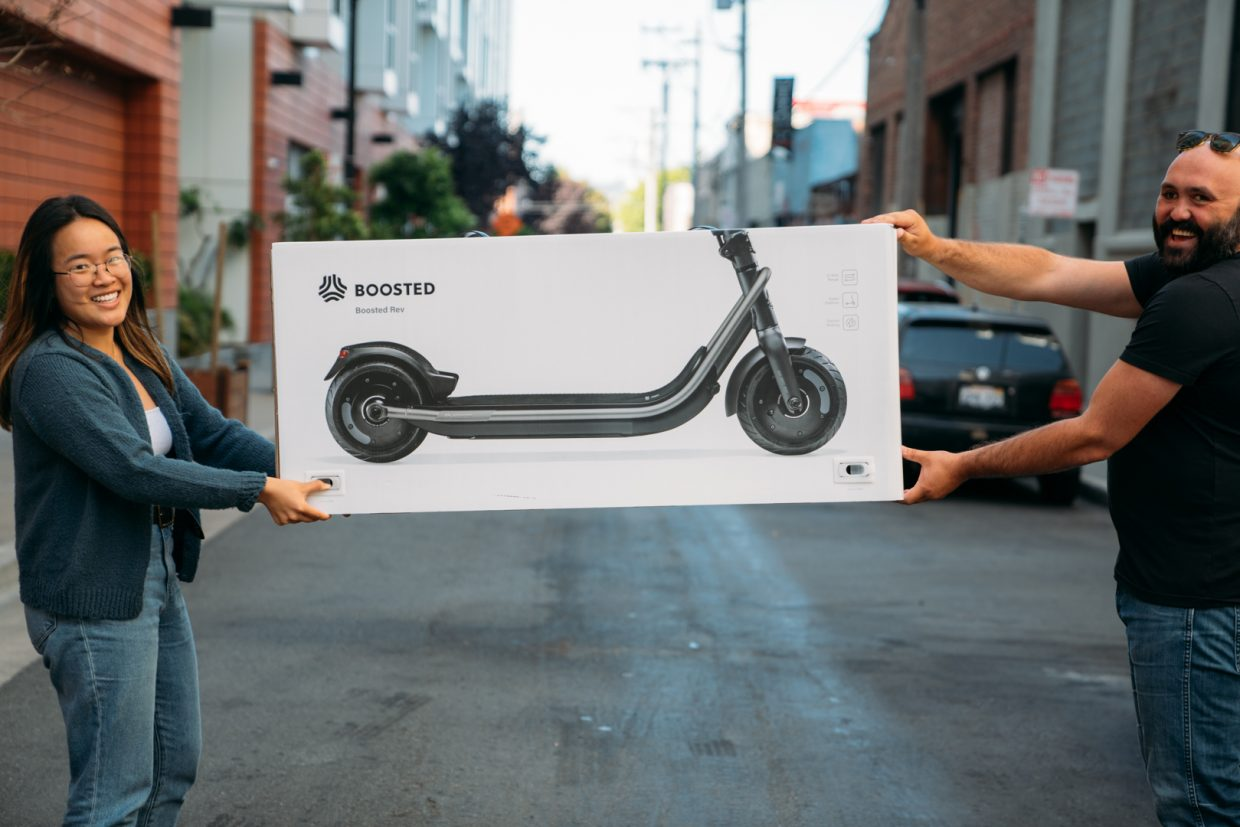 Claim your bragging rights and be one of the first to own a Boosted Rev in Europe! It's been a while since we opened up the Rev's pre-orders. And today we can finally share some great news, the vehicle-grade scooter is almost here! If you want the bragging rights of being one of the first in Europe to own the Boosted Rev, you can pre-order it here. We will be shipping the Rev out on a first come, first serve basis.