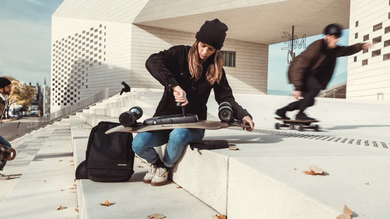 elwing modulair electric skateboard europe