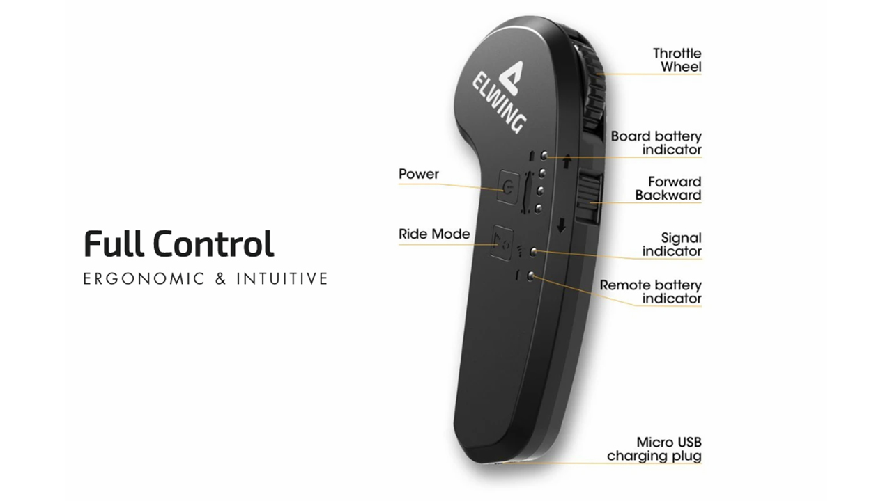 elwing electric skateboard remote
