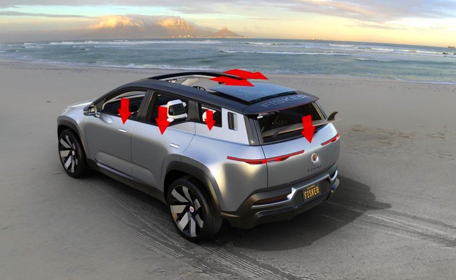 Fisker Ocean wants to be the first recyclable electric car Made mainly from materials obtained through recycling the new Fisker SUV designed by the Danish designer Henrik Fisker wants to be recyclable.