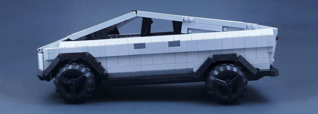 Help LEGO create a Tesla Cybertruck The recently launched Bulletproof Tesla Cybertruck was a massive hit with more then 200.000 pre-orders within a week (and still counting) will probably be available as a LEGO set soon.