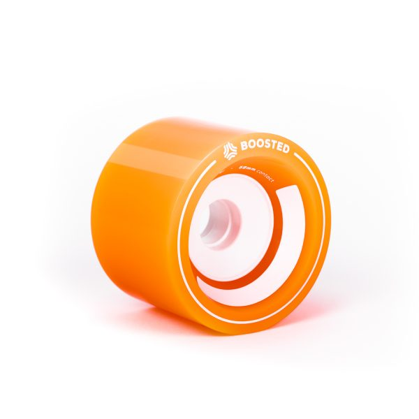 Boosted Stratus set of 2 front wheels 85mm - Orange The classics!