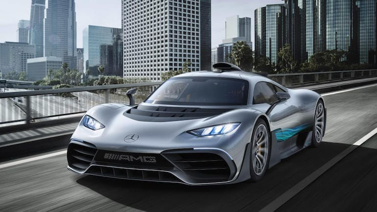 Hypercar Mercedes-AMG One is a beast Back in 2017 Mercedes already announced that they are working on a new hypercar for on the public road but they overdone themselves.