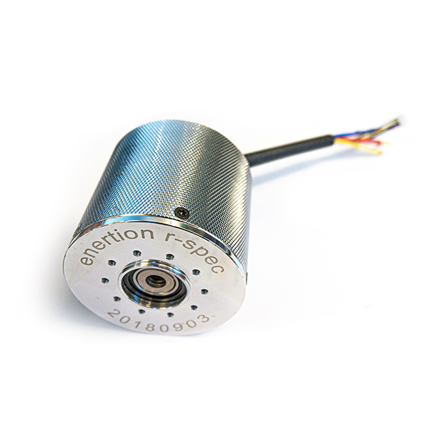 Enertion R-Spec direct drive hub motor 2.0 Building a stealthy, high performance, high torque electric skateboard has never been so easy. This is a spare part to replace one of your Raptor 2.0 motors or to build your own electric skateboard. Compatible with r-spec outwheels and FOCBOX Unity.  Due to the closing of Enertion, we can only offer a limited warranty on defects. Delicate parts should only be installed by professionals.  The motor has a 15mm steel axle & the motor/hanger assembly has integrated copper heat pipes to help extract heat directly from the core of the motor into the oversized aluminum hanger. The Hanger is 7075-T6 CNC billet aluminum with heat fins machined onto the majority of the surface to improve heat dissipation. These new cooling features result in 8% more torque during hill climbing. The motor also has built-in thermal sensors, when paired with a FOCBOX unity, you can create your own custom throttling profile to maximize performance without risk of damaging the motors when you are pushing maximum current.