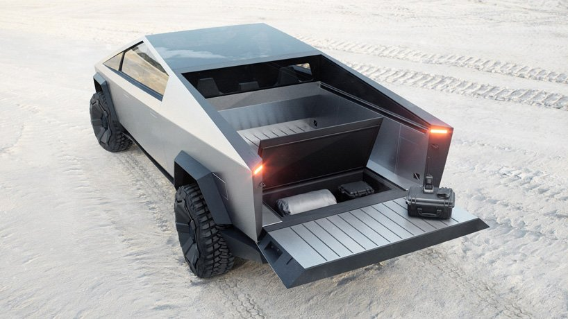 Tesla's Cybertruck is not only bulletproof, it's also a camper Just 48 hours after Elon Musk launched the Tesla Cybertruck at their event Tesla already received 200.000 $100 refundable pre-orders (that's $20.000.000 USD).