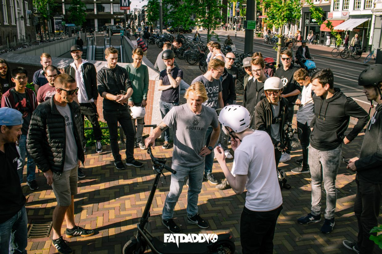 (Guerilla) Marketing  Internship in Amsterdam Fatdaddy is looking for Marketing and Social Media Interns who like to explore the world of a small but growing business that sells Urban Transportation from big brands like Segway, Boosted Boards, Onewheel and Coast Cycles while drinking vodka.