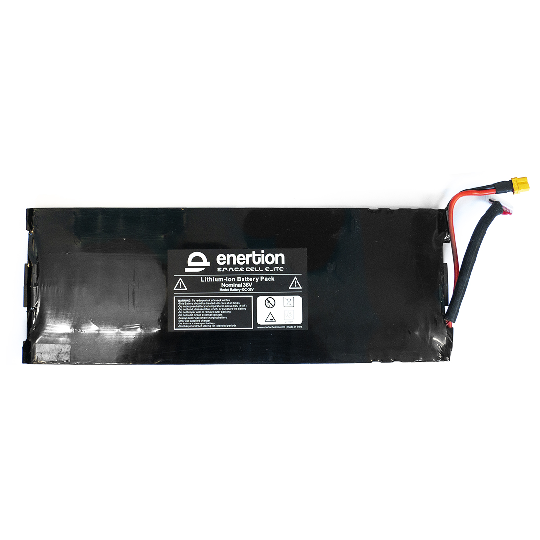 Enertion Raptor Battery The Enertion SPACE Cell Elite battery pack. Lithium-ion battery pack, 40C 36V.
