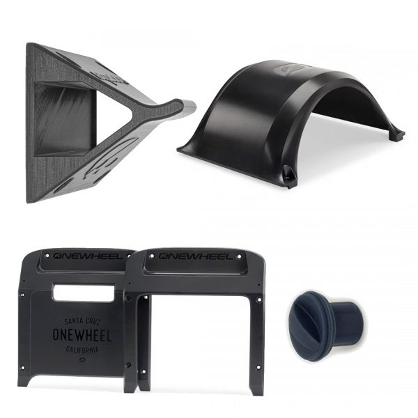 Onewheel XR Starter Kit If you have a Onewheel XR, you definitely want to upgrade it with our starter kit. The Fender keeps rain and dirt from reaching your legs and the backup pair of Bumpers protect your Onewheel from scratches. Next to that we are throwing in the Wall Mount, so you can hang your Onewheel on the wall saving some space, and makes it look like you own a spaceship.