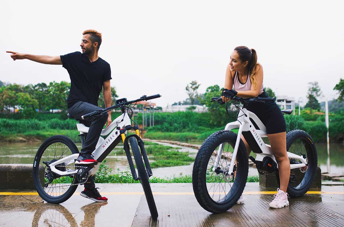 Nireeka Prime. World's Most Versatile Fat Ebike. The new Nireeka Prime Fat E-Bike not only comes with thick tires, but also with a lot more power under the hood. Since e-bikes have generally been the most popular ways of transport in urban areas in recent years, Nireeka is now building another electrified bicycle which is build like a hight grade vehicle.