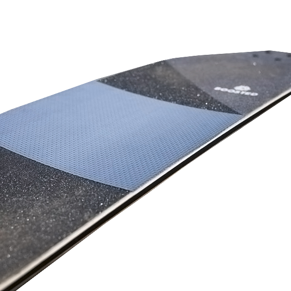 Skateboard Grip Tape Protection Do you often carry your skateboard? Then you probably ruined a shirt before because of the grip tape. Marine Grip helps protect your clothes and fingers with a high quality self adhesive rubberized sheet.   Non-abrasive (won't tear or damage clothes, making carrying your board much easier)  Provides excellent traction in all conditions (originally designed for surfboards and boat decks)  Easy to apply. Simply clean a section of grip tape with grip tape cleaner or a brush, remove the backing and apply Marine Grip to the middle of your deck, then trim the edges  Easy to scrub clean with a little soapy water  Fully removable (won't ruin your grip tape)