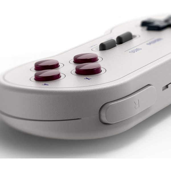 8Bitdo SN30 Bluetooth Classic Edition Wireless Bluetooth gamepad  Designed with the utmost attention to detail- just like the classics  Built in rechargeable battery  Designed after the original game boy pocket colors (G Classic Edition)