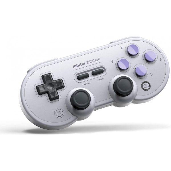 8Bitdo SN30 Pro Small enough to take with you, but also great for longer sessions on the couch.