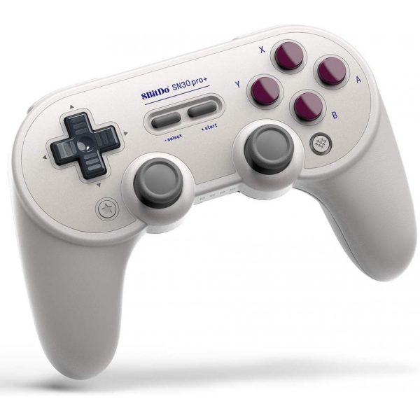 8Bitdo SN30 Pro+ Pro+ is the most advanced controller from 8BitDo. The SN30 Pro+ series aren't just some of the best full-sized wireless Bluetooth game controllers - they were designed with respect for the classics.