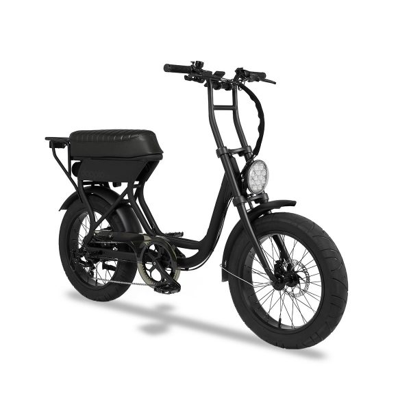 Doppio classico Riding a Doppio electric bike on your own is already a lot of fun, why not double it? The Doppio Bike is one of the few electric bikes that are build for two people The Doppio classico is equipped with an extremely comfortable buddy seat.