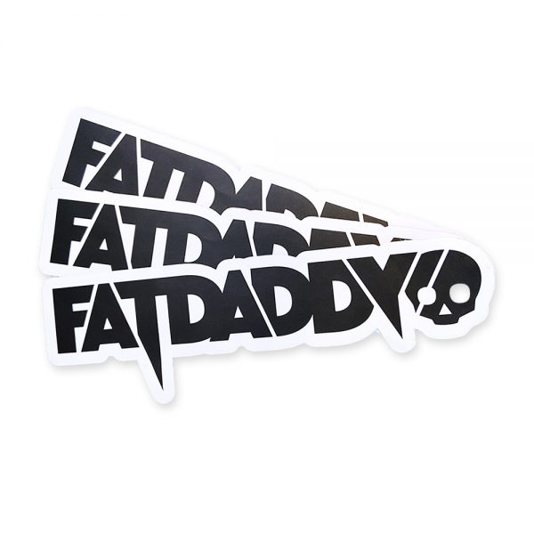 15-pack Fatdaddy Stickers Get a 15-pack of Fatdaddy stickers.