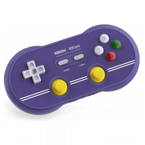 Purple Gamecube edition N30 Pro2 controller