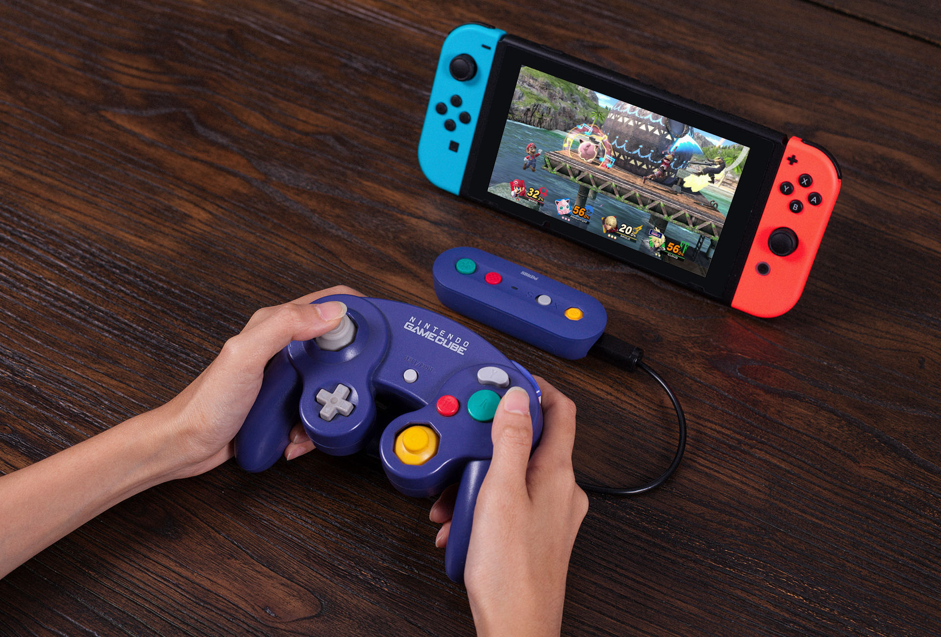 gbros adapter to use gamecube controller on switch
