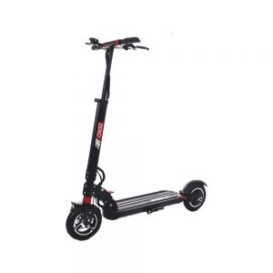 zero 9 electirc scooter in red