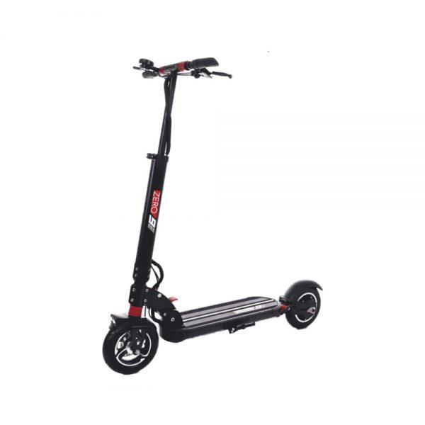 zero 9 electirc scooter in red