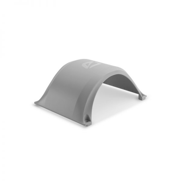 Fender for Onewheel XR - Grey Say goodbye to the days of pebbles in your shoes and stay above the fray with the Onewheel Fender. Made from Policarbonate, the Onewheel Fender allows you to embrace the elements and attack the messiest lines head on. The Onewheel Fender easily screws into place using the included fasteners and allen-wrench allowing riders to install and remove depending on conditions. This pant protector, bat-mobile inspired fender is the only way to outfit your Onewheel for any conditions.