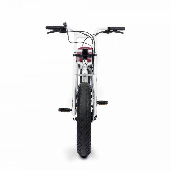 SUPER73-ZG White The SUPER73-ZG is perfect for exploring the city. The compact frame and the EPAC 250W internal hub motor make an excellent vehicle for anyone who wants the superior feeling of a regular SUPER73 with a smaller frame.